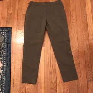 H&M Olive ankle slacks